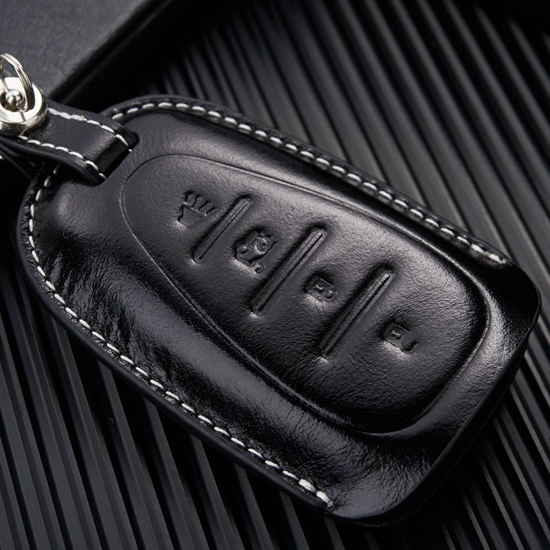 US $14 5 42% OFF|NAN ZI HAN Leather Car Key Fob Cover Case for  Chevrolet/Chevy 2016 2017 Malibu 2018 Cruze Camaro Key Chain Holder  Accessories-in Car