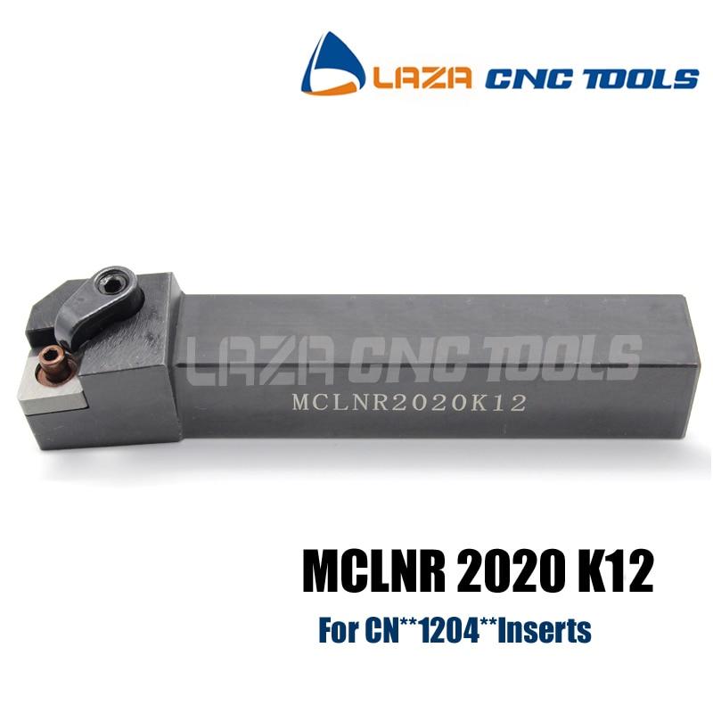 MCLNR2020K12 (20*20*125mm)External Turning Facing Toolholder For CNMG1204 CNC