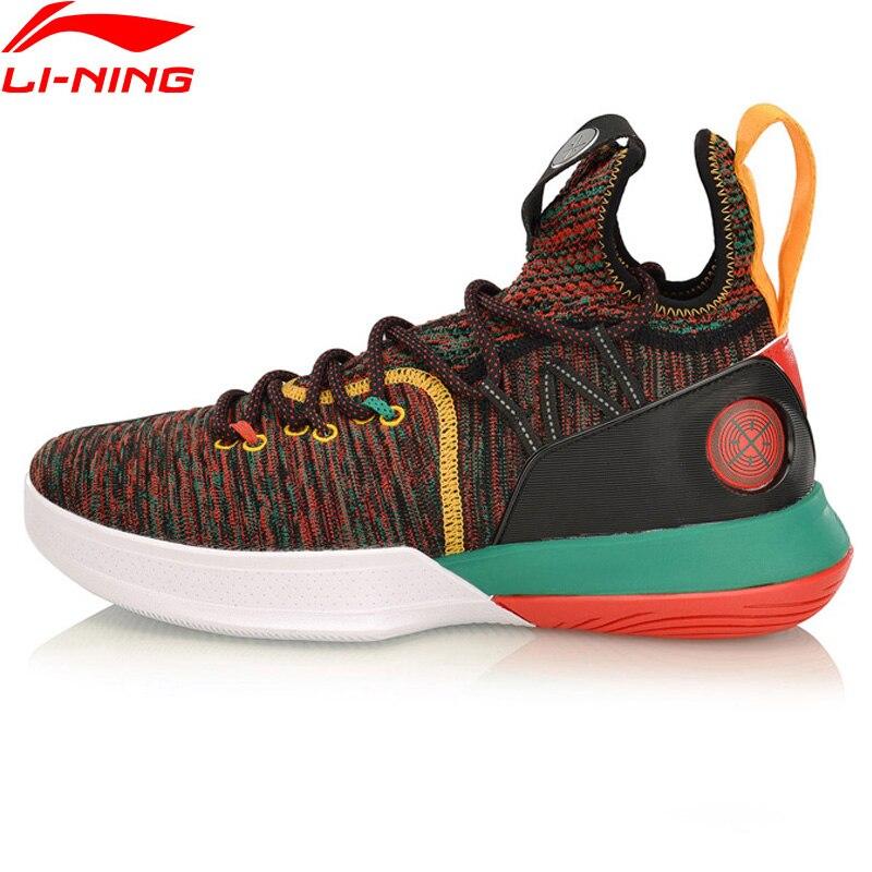 Li-Ning Men AIT VI Wade Series Professional Basketball Shoes Mono Yarn Cushion LiNing CLOUD Sport Shoes Sneakers ABAP005 XYL226