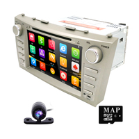 Double 2 Din Car DVD Player For TOYOTA Camry Aurion With Built In Microphone Bluetooth TV