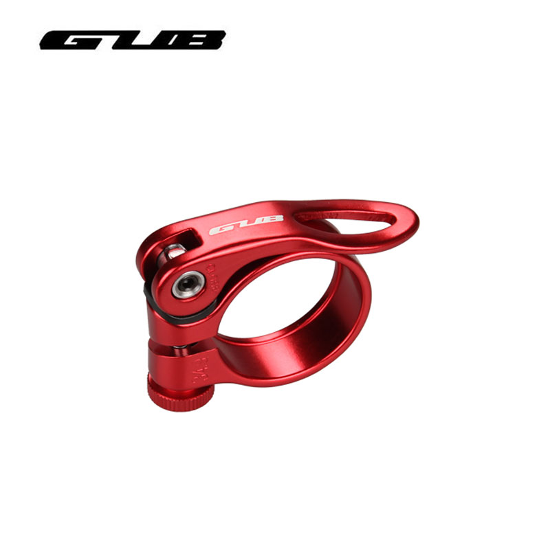 34.9mm Road Bike MTB Seat Post Clamp Seatpost Clamps Collar Quick Release