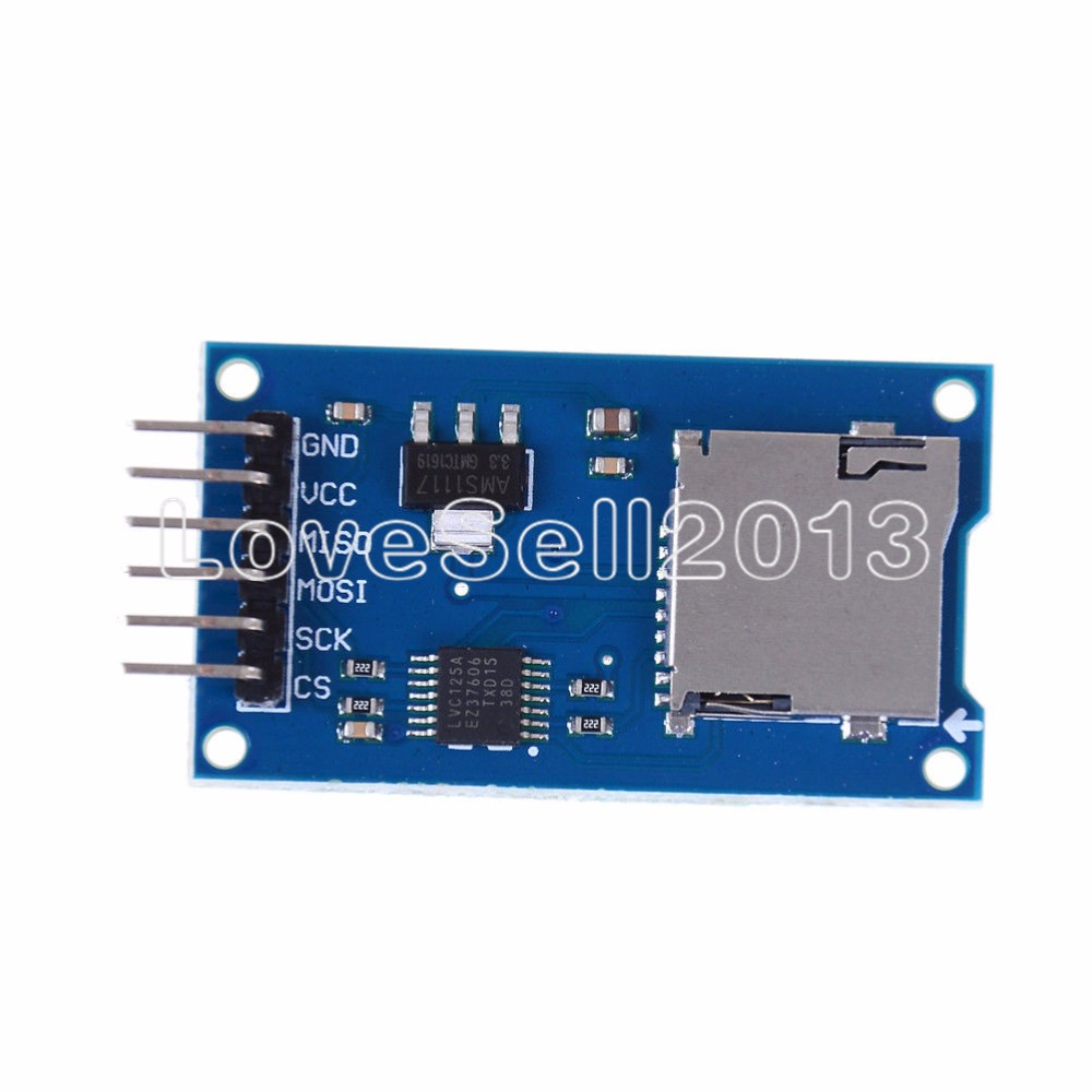 Micro SD Storage Board Mciro SD TF Card Memory Shield Module SPI for  Arduino New