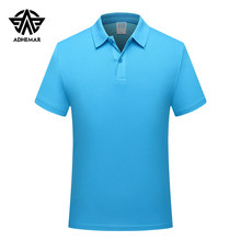 Adhemar training exercise golf short-sleeved polo shirt for sports quick-drying slim clothes outdoor tennis shirt for men/women(China)