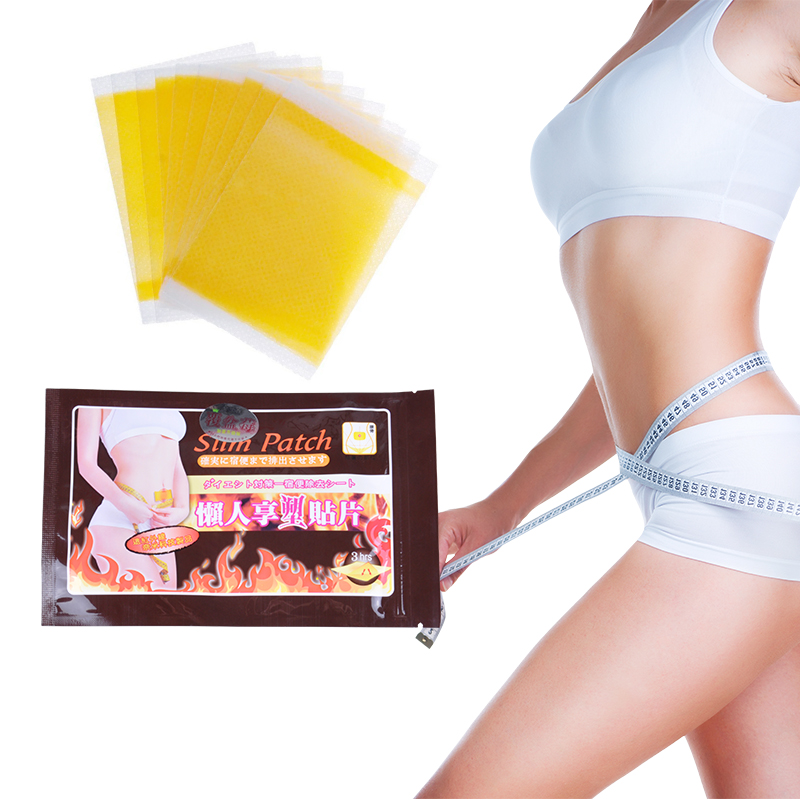 100Pcs the 3rd Generation Slimming Navel Stick Slim Patch Weight Loss Patch Slimming Creams Burning Fat Health Care