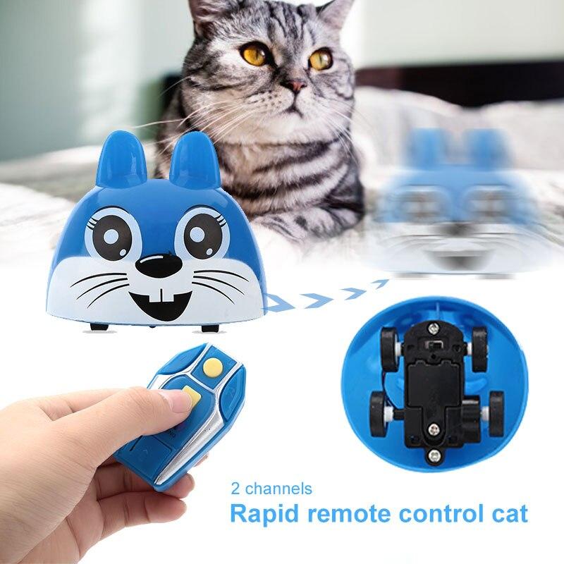 Dynamisch 2019 Duurzaam Kat Speelgoed Auto Blauw Spelen Met Katten Rc Kat Model Voor Game Drop Shipping Uitstekend In Kusseneffect