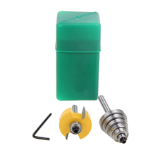 """7pcs Durable Rabbet Router Bit with 6 Bearings Set -1/2""""H - 1/4"""" Shank Suitable For Solid Wood Particle Board(China (Mainland))"""