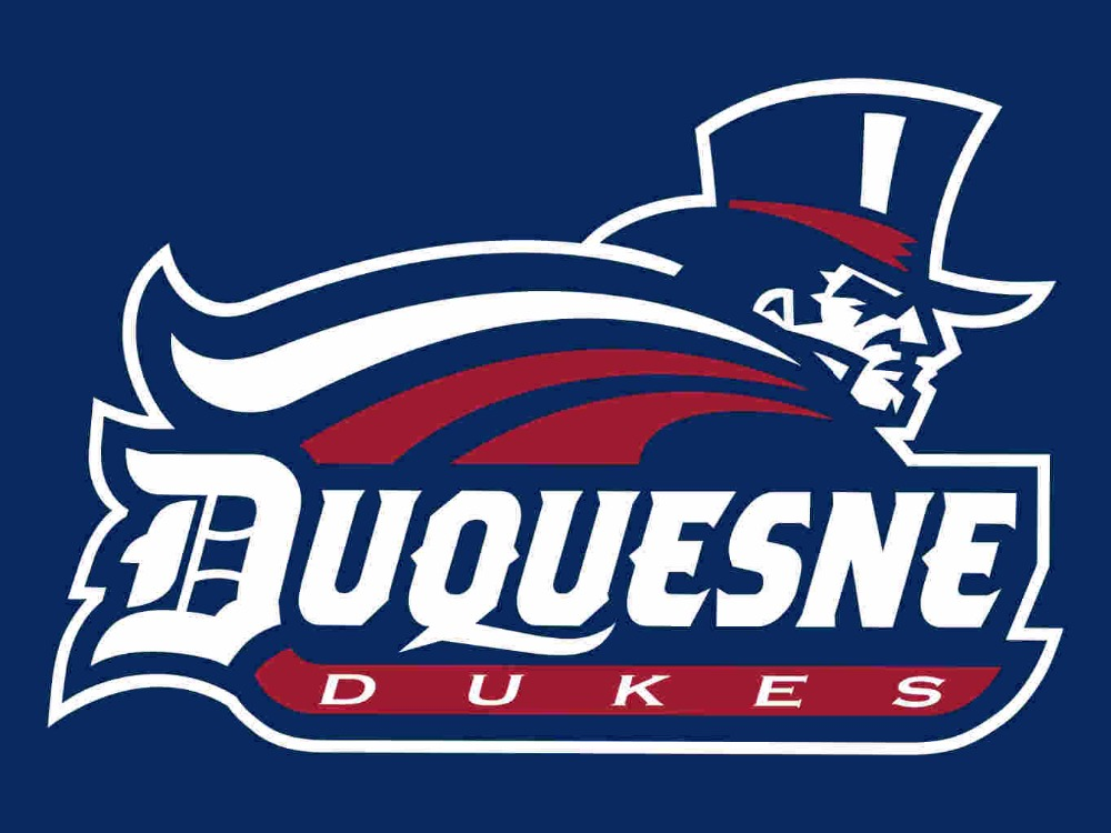 NCAA Duquesne Dukes Flag 3*5ft Club Basketball Team flag 100D Polyester NCAA Flags Banne ...