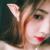 Nuevo Estilo de La Manera Creativa 3.5mm Diseño Ultra-suave Cosplay Espíritu Auriculares Fairy Elf Ears HIFI Auriculares In-Ear con micrófono