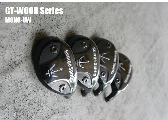 George Spirits Golf Hybrids Heads19/ 22/ 25/degree Only Golf Club Original Real New