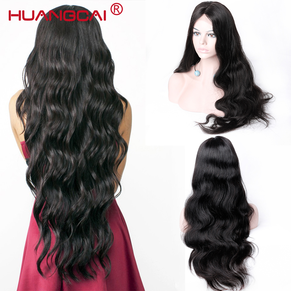 Pre Plucked 13*4 Lace Front Human Hair Wig With Baby Hair 150% Density Brazilian Body Wave Lace Front Wigs Middle Part Remy Hair