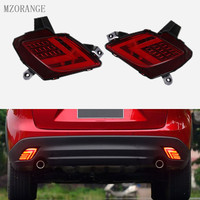 MZORANGE LED DRL Rear Rear Bumper Light For Mazda CX 5 CX5 CX 5 2013 2016