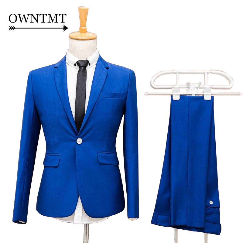 Online Get Cheap Men Suit Slim Fit Royal Blue -Aliexpress.com ...