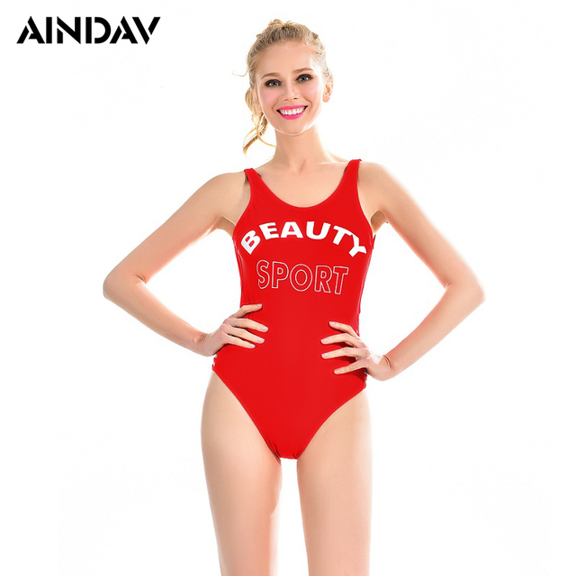 8d1ce229a33 US $10.27 37% OFF|Slim was Thin Women Triangle one piece Swimsuit  Professional Sports Swimwear Beach Batching Suit Swimming Suit Feamle  Bodysuit-in ...