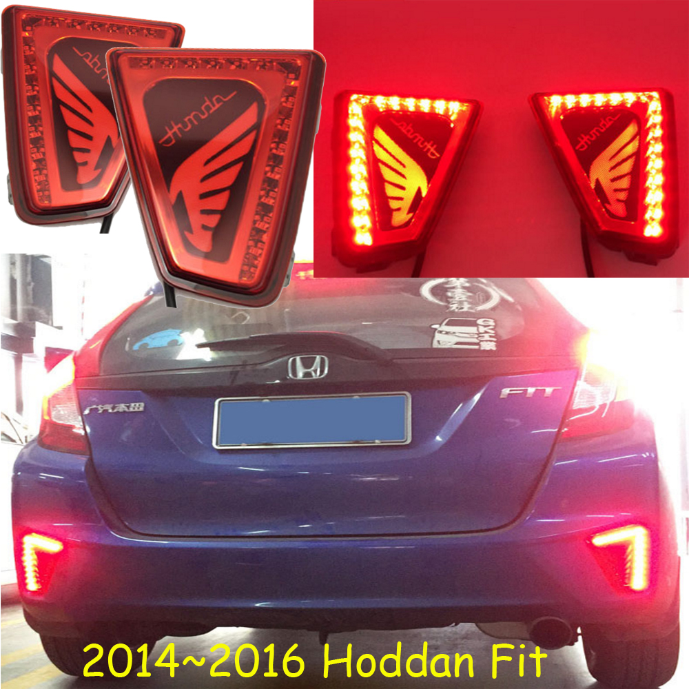 Подробнее о car-styling,Fit Jazz Breaking light,2014~2017,led,Free ship!2pcs,Fit Jazz rear light;Fit Jazz tail light,Fit Jazz fit taillight 2014 2016 free ship led 2pcs set fit rear light fit fog light fit jazz