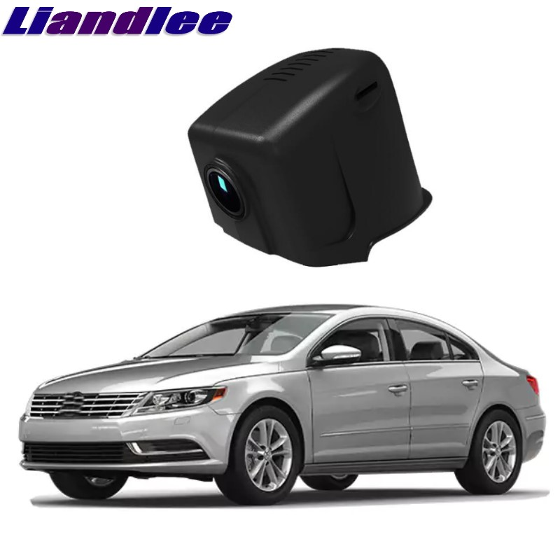 Liandlee For Volkswagen VW CC High configuration 2015~2018 Car Black Box WiFi DVR Dash Camera Driving Video Recorder for vw touareg 2011 2016 car dvr mini wifi camera driving video recorder novatek 96658 car dash cam original style black box