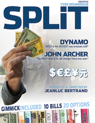 Split By Yves Doumergue & JeanLuc Bertrand Magic Tricks