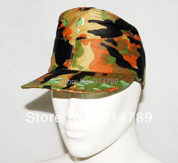 WW2 GERMAN LEIBERMUSTER CAMO FIELD CAP SIZE M-31207