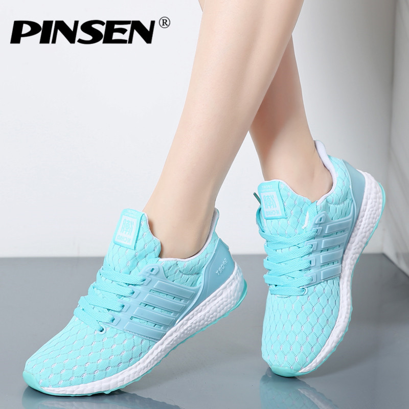 PINSEN Fashion Sneakers Women 2017 Tenis Feminino Casual Shoes Woman Outdoor Trainers Shoes Women Lace Up Flats Chaussure Femme aftermarket free shipping motorcycle parts blade style rear foot peg for 1999 2007 suzuki gsx 1300r r hayabusa gsx r chrome