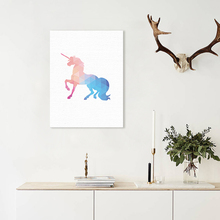 Hot Nordic Cute Animals Unicorn Canvas Painting Modern Wall Art Poster Print Wall Picture For Kid Bedroom Living Room Home Decor nordic minimalist cute animal children s room canvas painting art print poster picture wall living room bedroom home decor