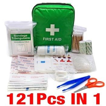 Portable 16-300Pcs Emergency Survival Set First Aid Kit for Medicines Outdoor Camping Hiking Medical Bag Emergency Handbag 6