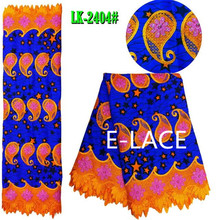 African hollandais dutch wax fabric for women's party noble dress&shoes 1610s2140d45