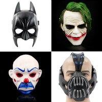 The Dark Knight Batman Vs Superman Adult Adult Batman Latex Full Mask Bane Joke Hood Halloween