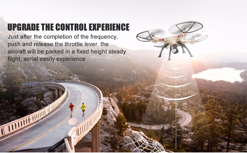 SYMA Official X8HW FPV RC Drone with WiFi HD Camera Real-time Sharing Drones Helicopter Quadcopter Dron with Hovering Function 4