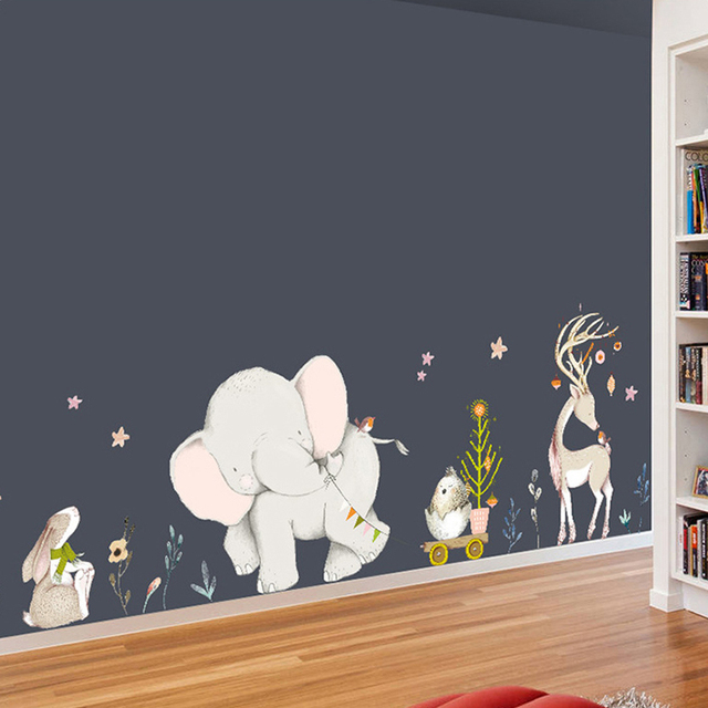 Cartoon Animal Decal