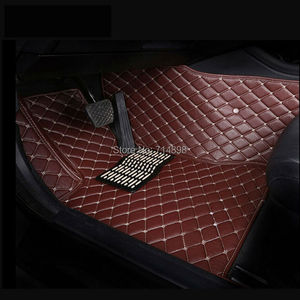 Image 5 - Carnong car mat floor Leather for AUDI TT 4 seat from 2008 2016 full set  pls remark the year of your car for our confirm