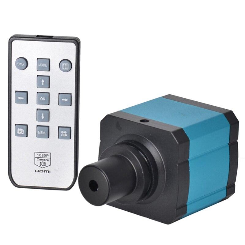 FHD 2K 23MP 60FPS HDMI USB промышленный электронный цифровой видео микроскоп камера C крепление камера для PCB IC ремонт пайки - 5