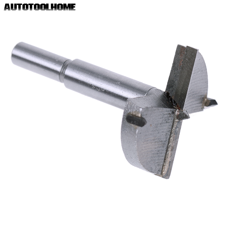 38mm Forstner Auger Wood Drill Bit Tool Woodworking Hole Saw Cutter Silver Tone