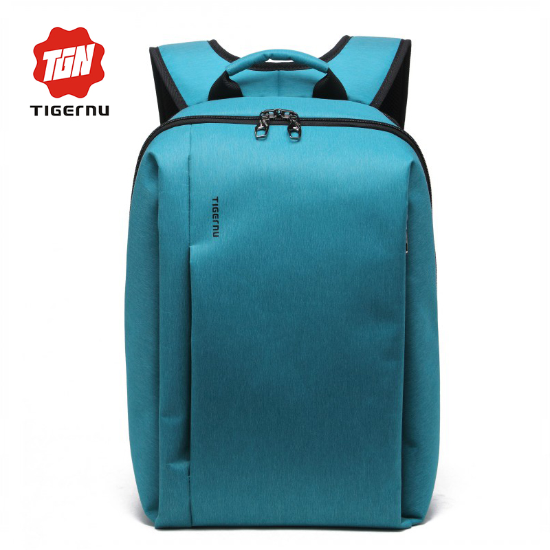 2017 Tigeru Men 15 6 Inch Laptop font b Backpack b font For Teenage Large Capacity