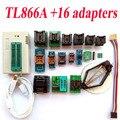 TL866A programador + 16 adaptadores de Alta velocidade TL866 AVR PIC Bios 51 MCU Eprom Programador PLCC SOP DIP SSOP Inglês manual
