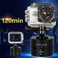 360 graus Panning Rotating Time Lapse Stabilizer Deriva Temporizador Do Ovo com adaptador para câmera gopro 4 3 + xiaomi yi sjcam m10 m20