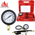 Auto Fuel Injection Pump Pressure Tester Kit Car Petrol Gas Engine Cylinder Compression Gauge Car Diagnostic Tool