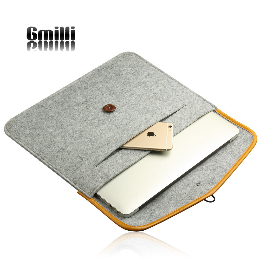 Gmilli Nylon Soft Carry Pouch Cover Sleeve Tas voor Lenovo HP Dell - Notebook accessoires