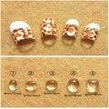 Unha Diamante Transparente Lupa Jóias com Diamantes de Cristal 3D Prego Jóias 100 PCS Pedrinhas Glitter Gems Dicas de Decoração Ferramenta