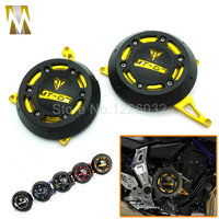 Gold Color Motorcycle MT 07 Engine Stator Case Cover Engine Protective Cover Protector For YAMAHA MT