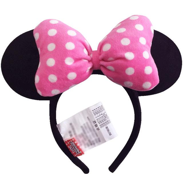 Ears Headband Hoop Hair Minnie and Mickey Mouse