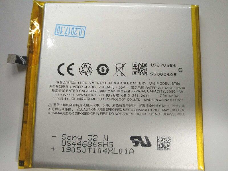 3450mAh High Quality BT56 Battery for Meizu Meizy MX5 Pro / Pro 5 Pro5 M5776 Batterie Bateria Accumulator