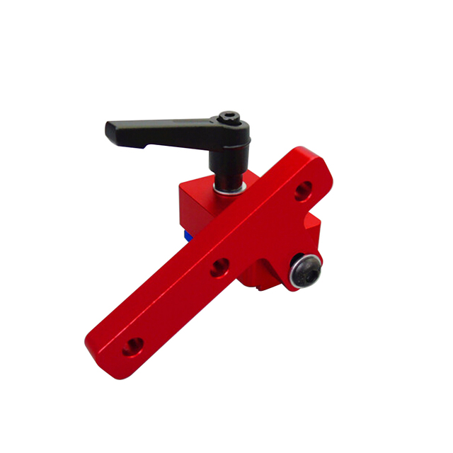 Standard T-Tracks T-Slot Miter Track Stop Chute Stopper Manual Woodworking DIY Tools Supplies