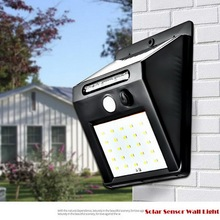 цена на LED Solar Lamp Power PIR Motion Sensor Wall Light 20 LED Outdoor Waterproof Energy Saving Street Yard Path Garden Security Lamp