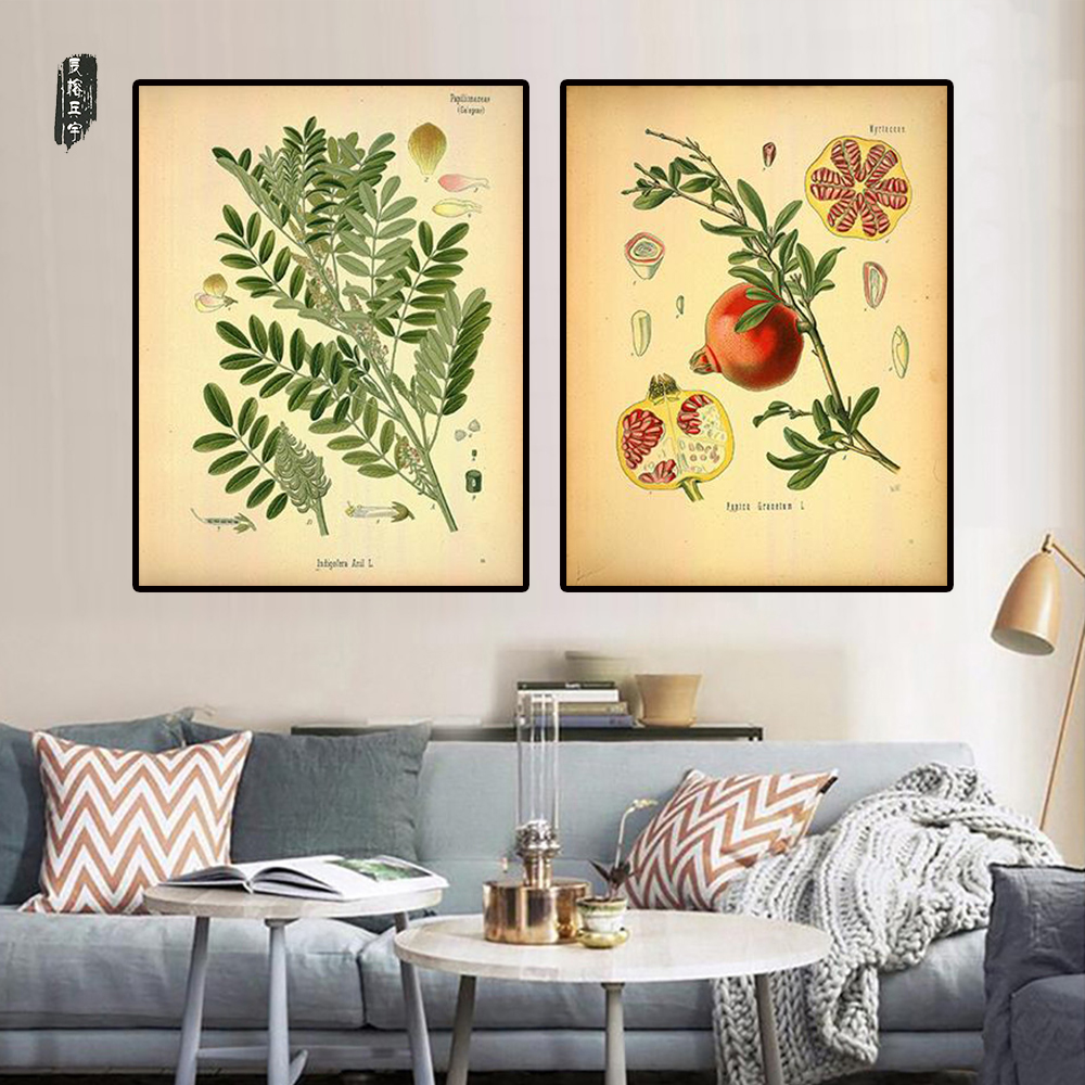 Contemporary Plant Wall Art Sketch - The Wall Art Decorations ...