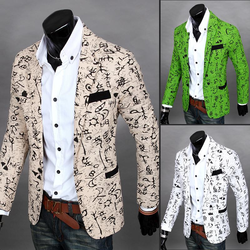 New! 2016 Fancy Small Suit Jacket Western style The Trend Of ...