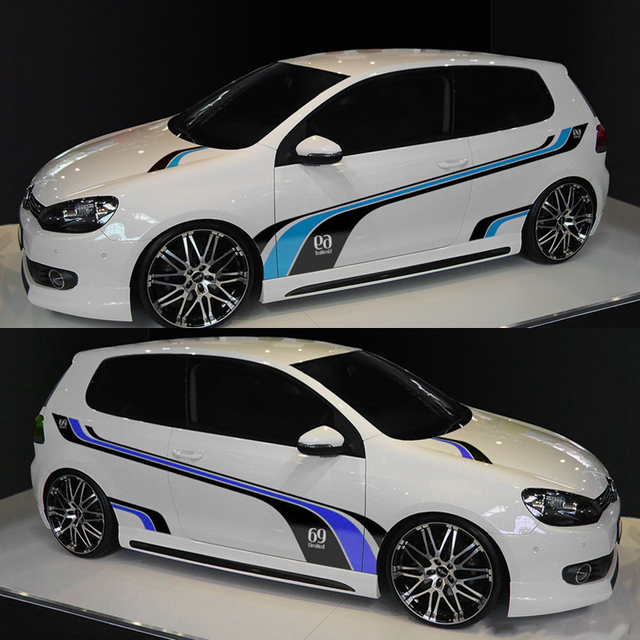 Cnoricarc Sport Styling Customized Whole Stickers Racing Car Door