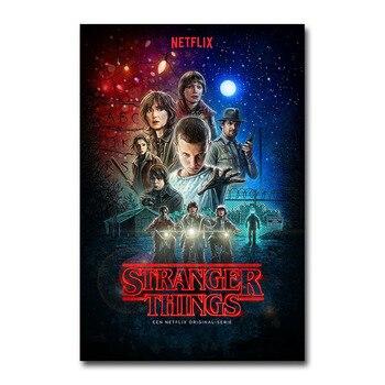 Плакат из сериала Очень странные дела
