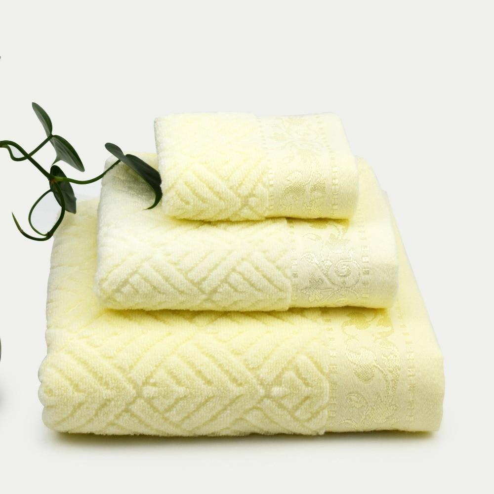 pezzi del ricamo del cotone sport in esecuzione set di asciugamani bagno viso asciugamani per adulti