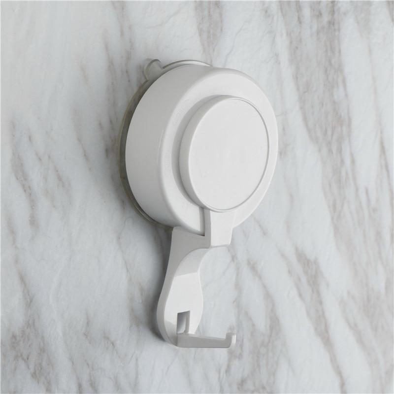 Vacuum Suction Cup Sucker Shower Towel Bathroom Kitchen Wall Hook Hanger Holder