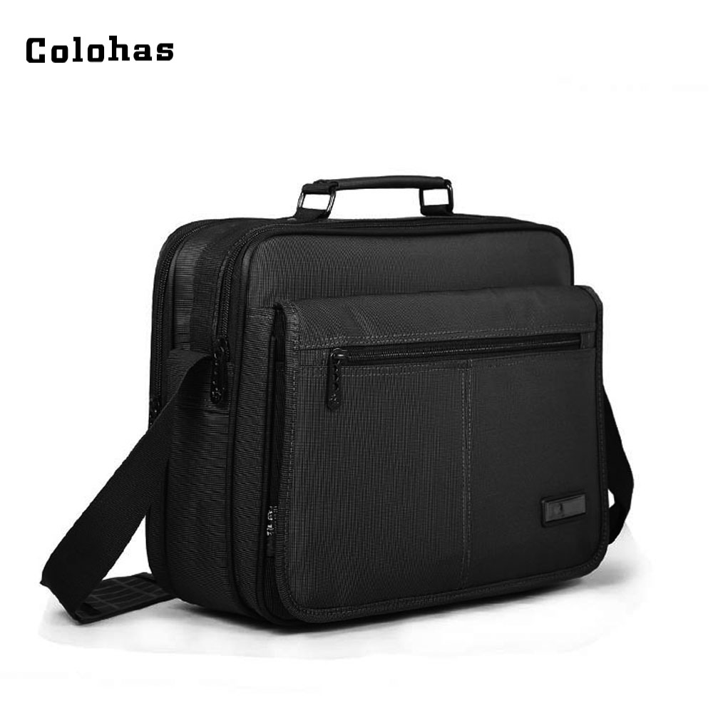 12 13 14 15 inch Laptop Shoulder Messenger Bag Men Multifunction Casual Tablet Handbag Business Travel Briefcase for Macbook HP men black business travel briefcase 15 inch laptop computer notebook handbag single shoulder messenger bag portfolio for macbook