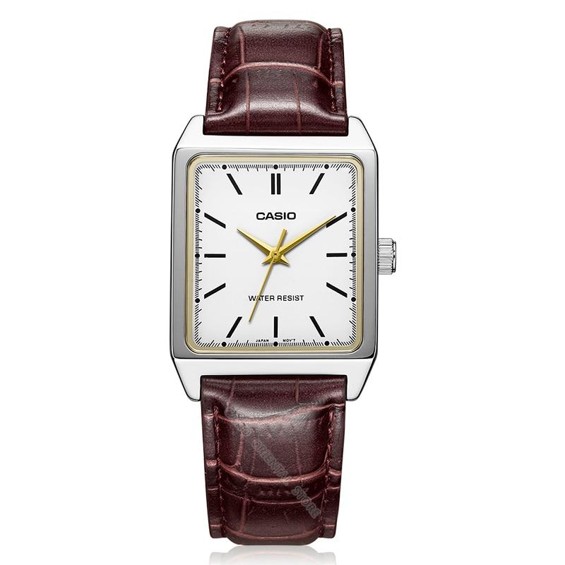 Casio montre Chaude vente De Luxe Marque Hommes Montre Ultra Mince Horloge Mâle Montre À Quartz Hommes Montre Étanche Casual relogio MTP-V007